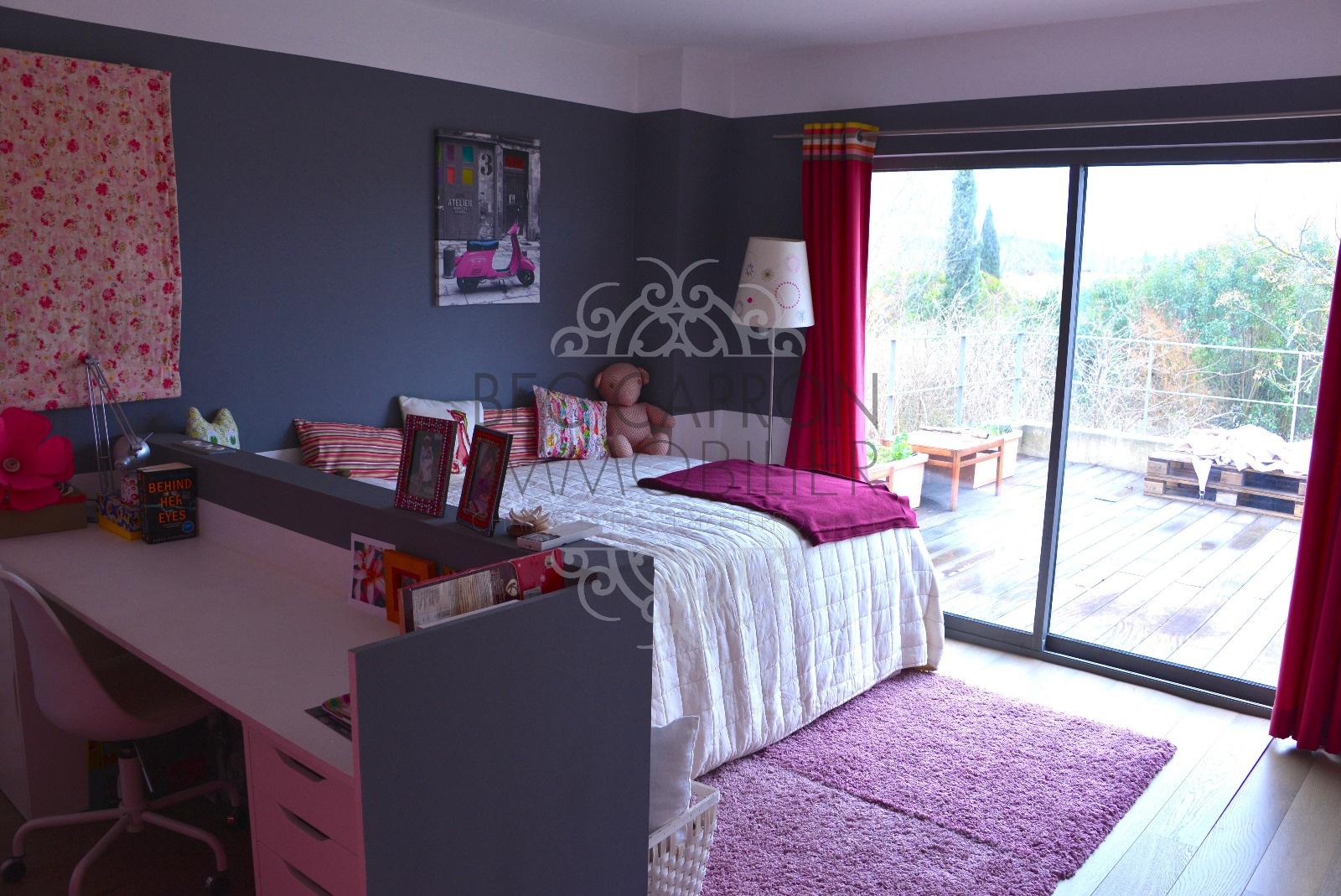 Chambre 3 au 1 er étage avec accès terrasse