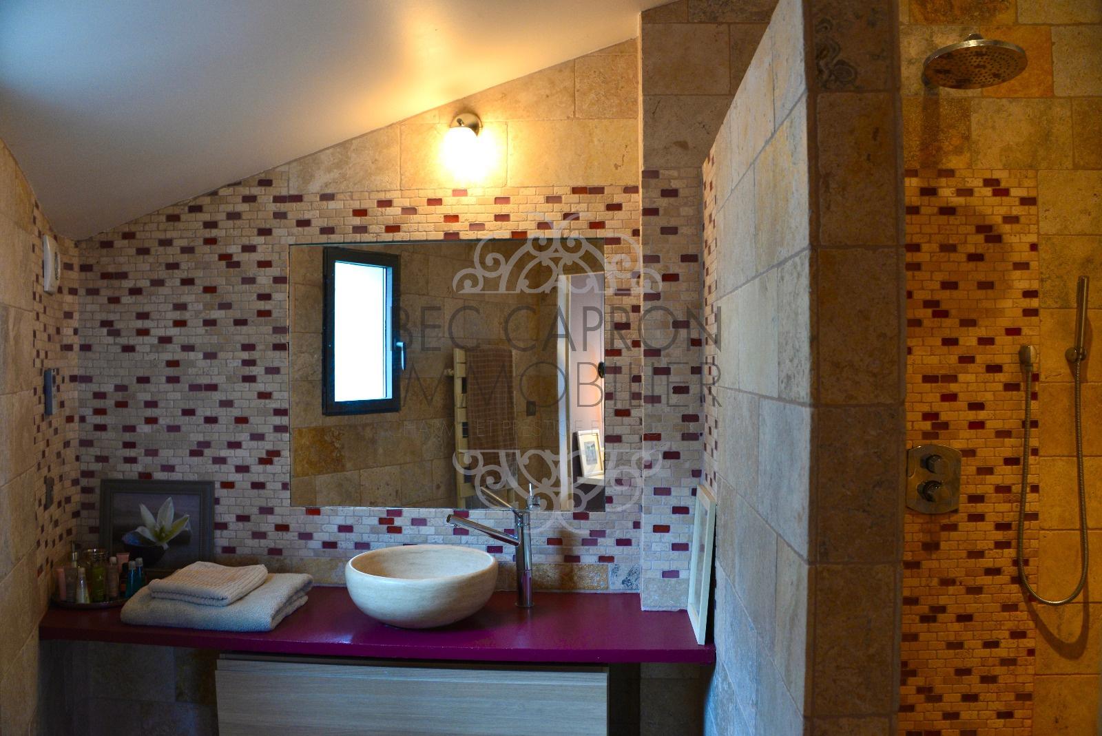 salle de douche pour la chambre a coté
