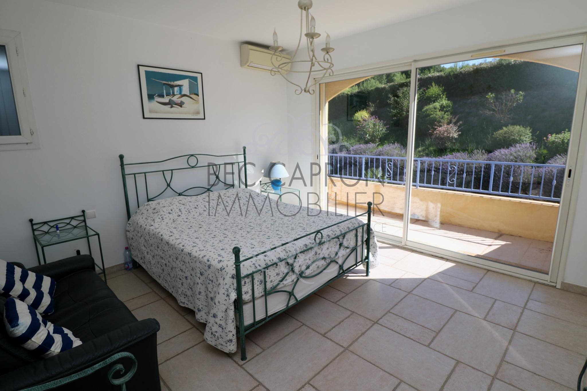 Chambre et sa terrasse