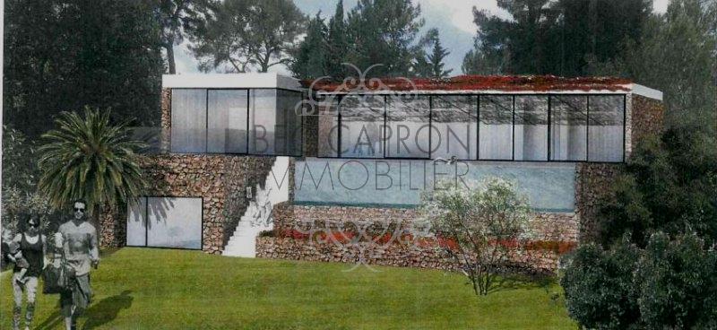 Idée de projet N°1avec piscine en restanque