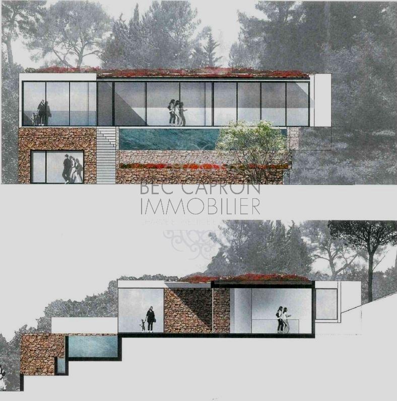 Idée de projet n°1 avec piscine en restanque