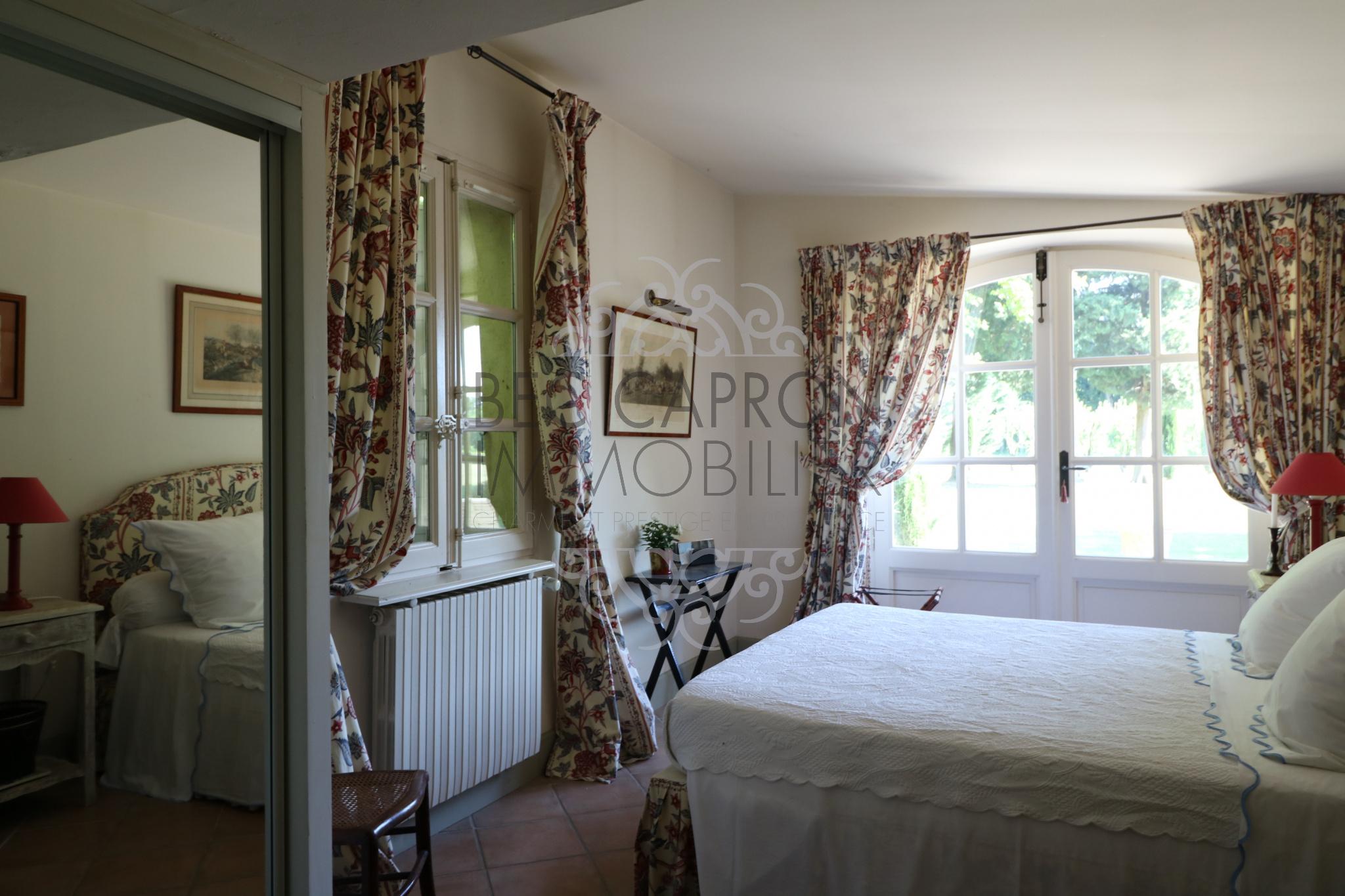 Chambre en rez de jardin